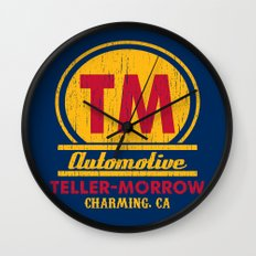 Teller-Morrow Wall Clock