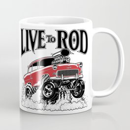 1955 CHEVY CLASSIC HOT ROD Coffee Mug