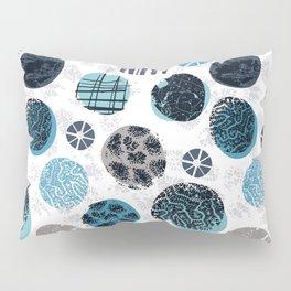 Blue Pebbles Pillow Sham