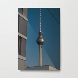 tv tower Metal Print