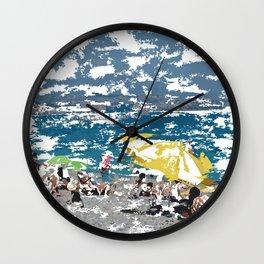 Beach III Wall Clock