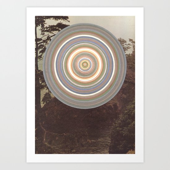 Washed Out Art Print