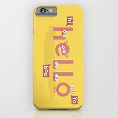 Monster Hello iPhone 6s Slim Case
