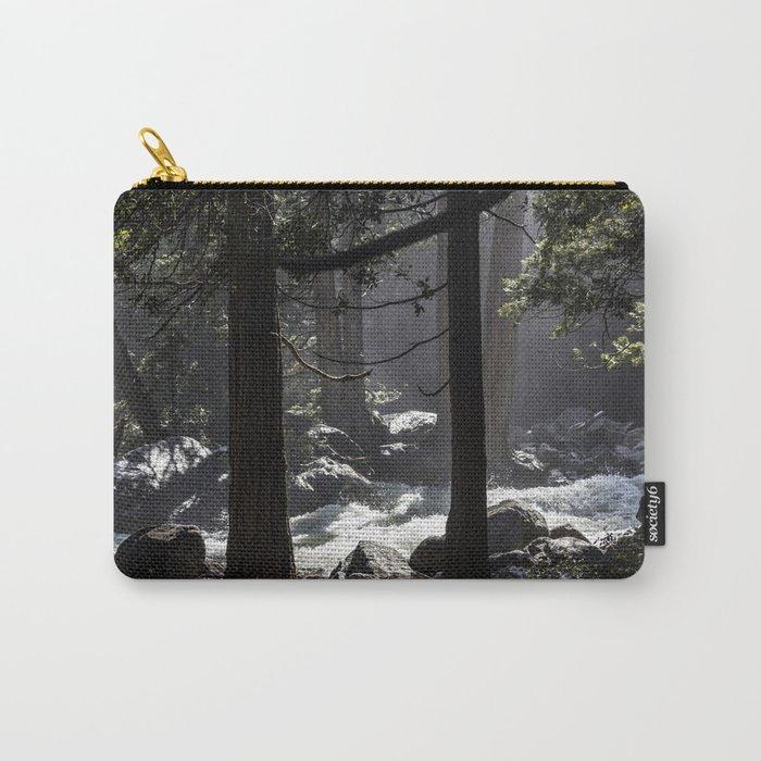 A River Runs Through Yosemite Carry-All Pouch