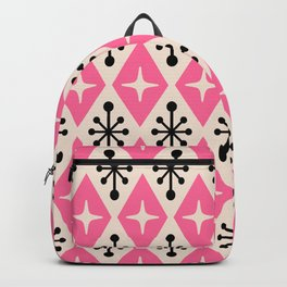 Mid Century Modern Atomic Triangle Pattern 111 Backpack
