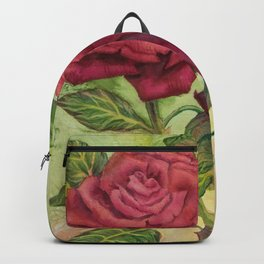 Fire & Ice Roses Backpack