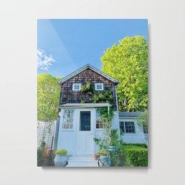 Hamptons Home Metal Print