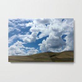 Countryside Sky Metal Print