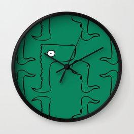 Dino Baby Wall Clock