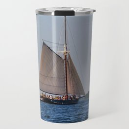 Sailing on Casco Bay Travel Mug