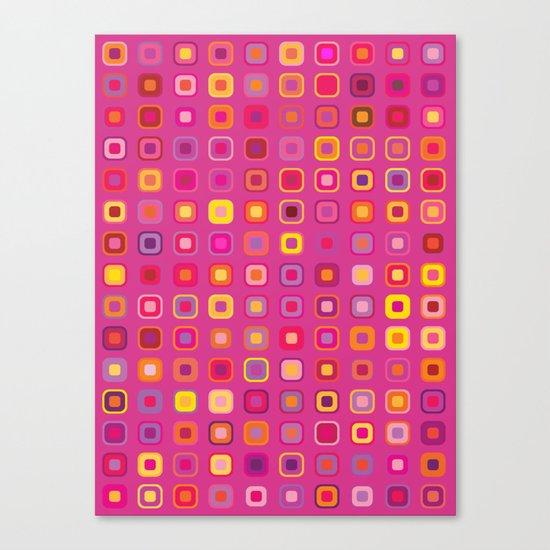 Retro in Pink Canvas Print
