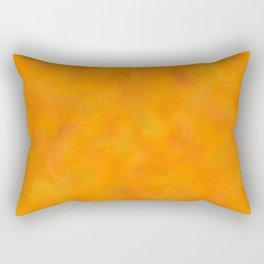 Costinamare - orange waves Rectangular Pillow