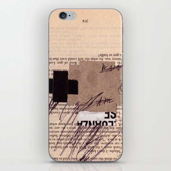 BOOKMARKS SERIES pg 374 iPhone & iPod Skin