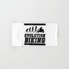 Evolution Biking | Motorcycle Street Speed Hand & Bath Towel
