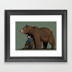 Vex and Trinket Framed Art Print