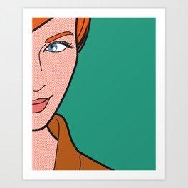 Pop Icon - Madmen 3 Art Print