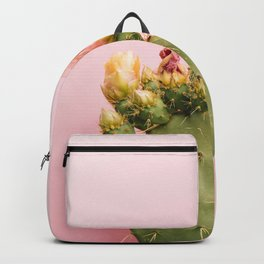 Cacti and pink V Backpack
