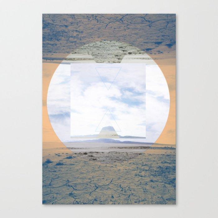 seamlessly run Canvas Print
