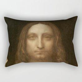 Price Slashed on 450M Leonardo da Vinci Salvator Mundi Rectangular Pillow