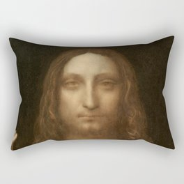 Price Slashed on 450M Leonardo da Vinci Salvator Mundi Rectangular Pillow