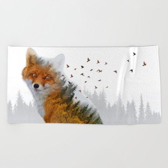 Wild I Shall Stay | Fox Beach Towel