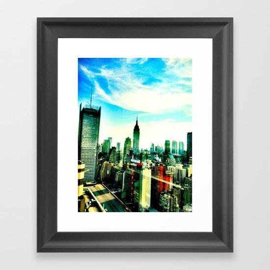 New York by iPhone 1 Framed Art Print