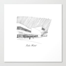 Zaha Hadid Canvas Print