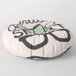 Pretty Smart Mint Floor Pillow