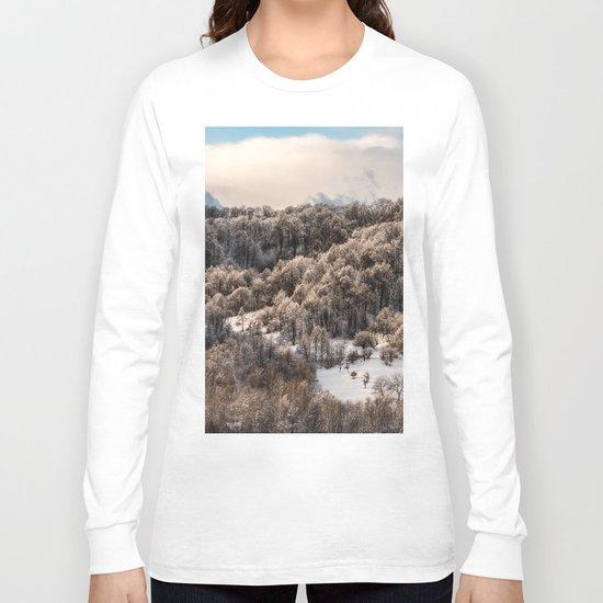 Winter Landscape 3 Long Sleeve T-shirt