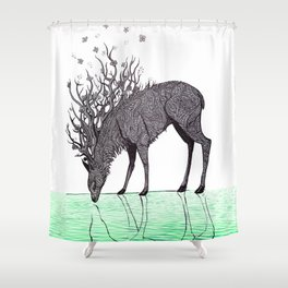 Prince of Life Shower Curtain