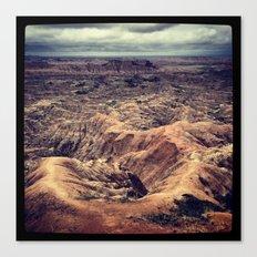 Badlands, South Dakota Canvas Print