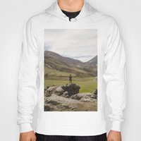 iceland Hoodies featuring ICELAND I by Gerard Puigmal