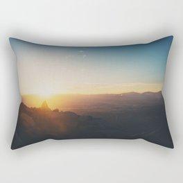 sunrise on Mt Woodson ... Rectangular Pillow