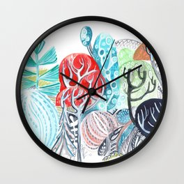 A Study in Nature Wall Clock
