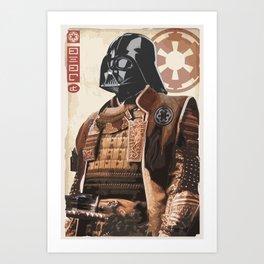 Star Wars - Samurai Vader Art Print