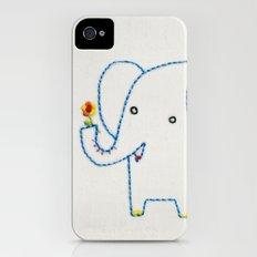 E Elephant iPhone (4, 4s) Slim Case