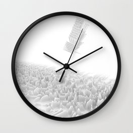 Unknown Pleasures Inspired Wall Clock