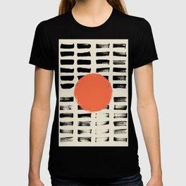 Mid Century Modern Art Print, SUN Art, Extra Large Wall Art, Mid Century Print, CIRCLE Print, Modern T-shirt