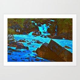Meeting of the Waters Art Print