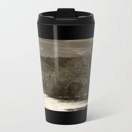The hills are alive - sepia  Travel Mug