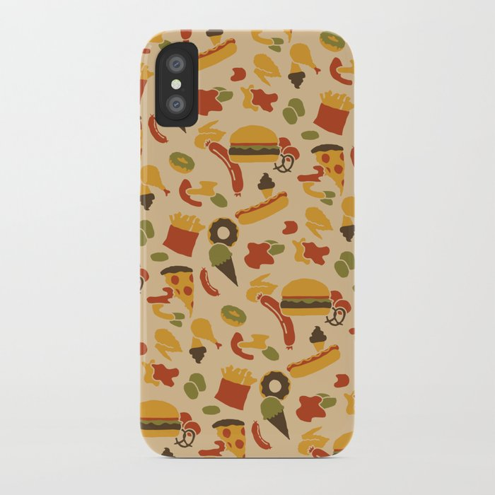Fast Foodouflage iPhone Case