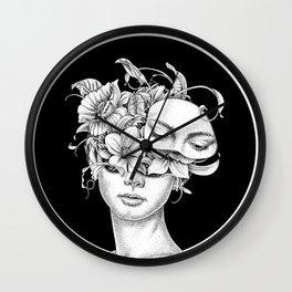 Flower Girl 6 Wall Clock