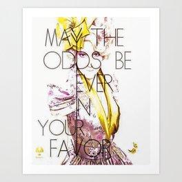 May the Odds Art Print