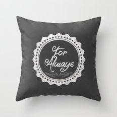 Adoption is For Always Throw Pillow