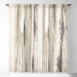 Windswept Waves Blackout Curtain