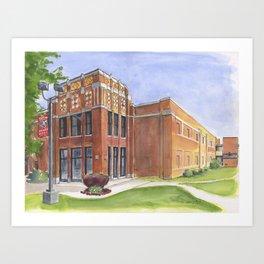 Northside High Forever! Art Print