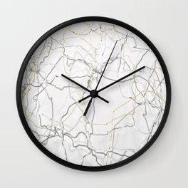 Light Lace Wall Clock