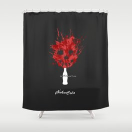 The Nuka Side of Life Shower Curtain
