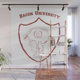 Bacon University Wall Mural