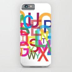 AMAZING ALPHABET Slim Case iPhone 6s